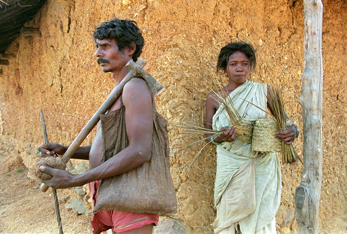 Sabar tribe people, 1995.