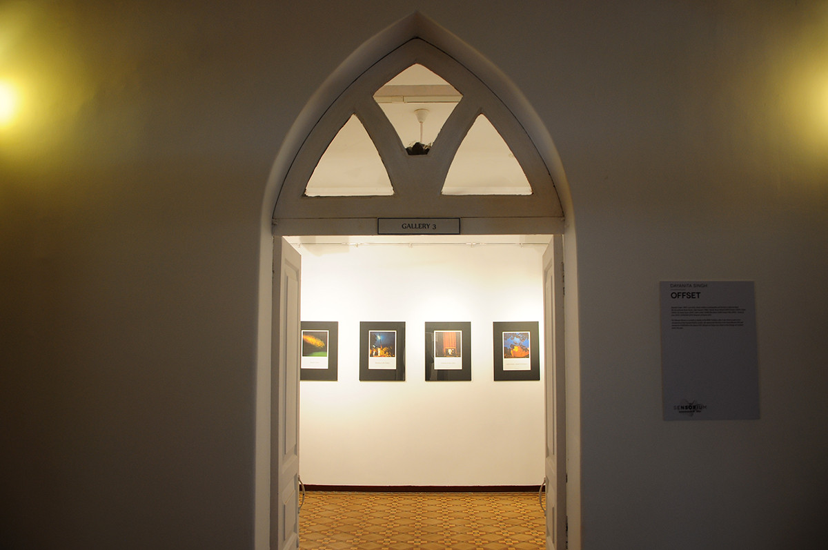 Installation view of 'Offset' by Dayanita Singh
