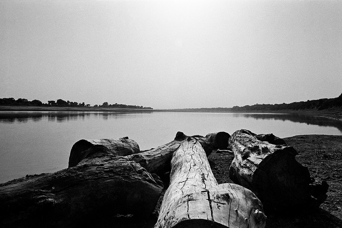 The Chambal river, 1983.