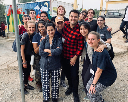 Torch and Viterbi travel to Camp Moria in Greece.