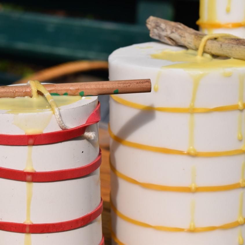 Honigkerzen