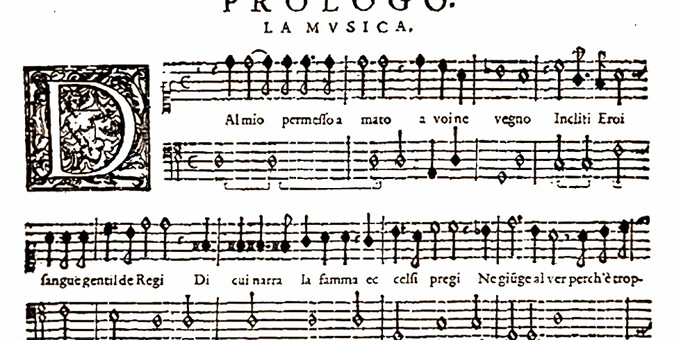 Het ontstaan van de opera