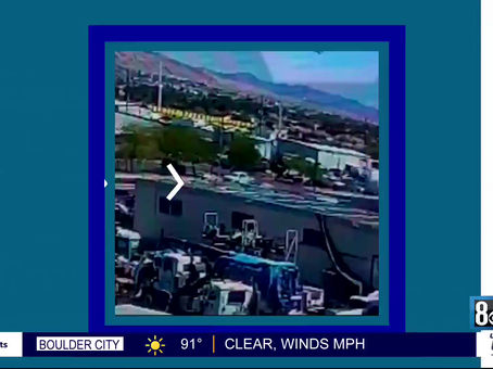 Jet that Crashed Near Nellis AFB