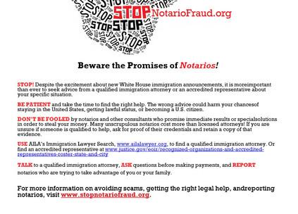 Stop Notario Fruad!