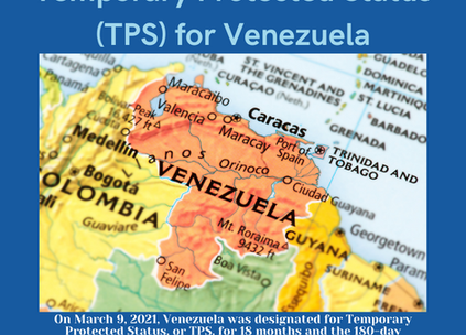 Temporary Protected Status (TPS) for Venezuela