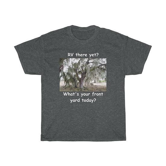 Front Yard Moss Tree, Unisex Heavy Cotton Tee