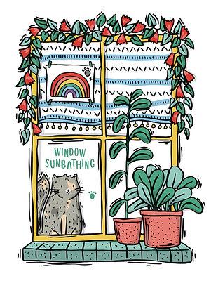 Window Cat Sunbathing.jpg