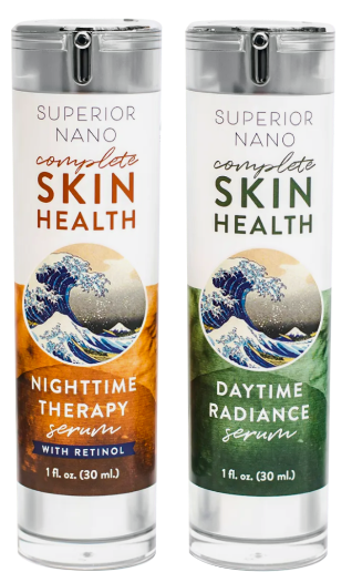 Skin Health Starter Package - Day and Night Anti-Aging Serums