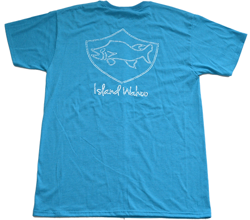 Faded T- Shirt- Sky Blue