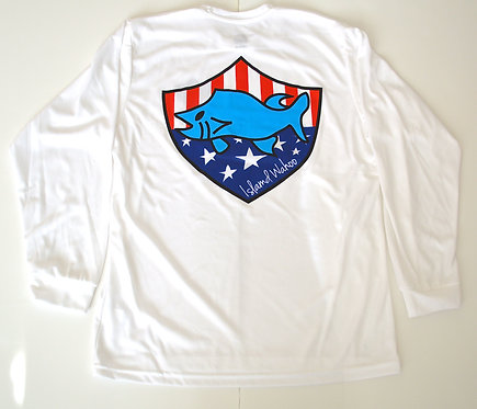 USA Long Sleeve Athletic Shirt- Youth