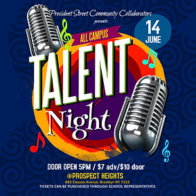 Copy of Copy of Talent Night Flyer - Mad