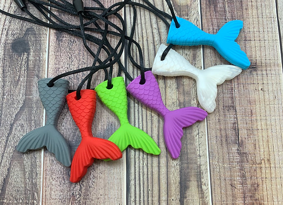 Mermaid Tail Chew Necklace