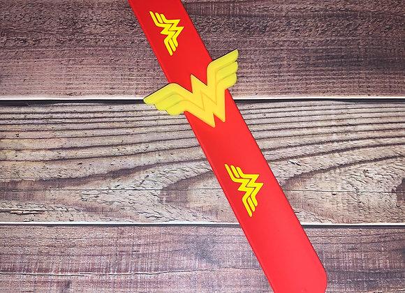 Super Hero Wonder Woman Slap Bracelet