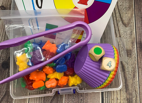 Counting Bears Educational Toy Set