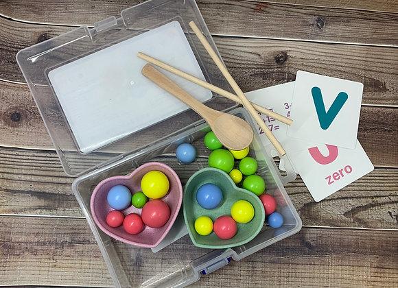 Montessori Educational Heart Toy Set