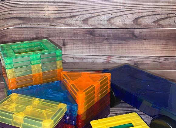 Magnetic 43pc Building Block Set