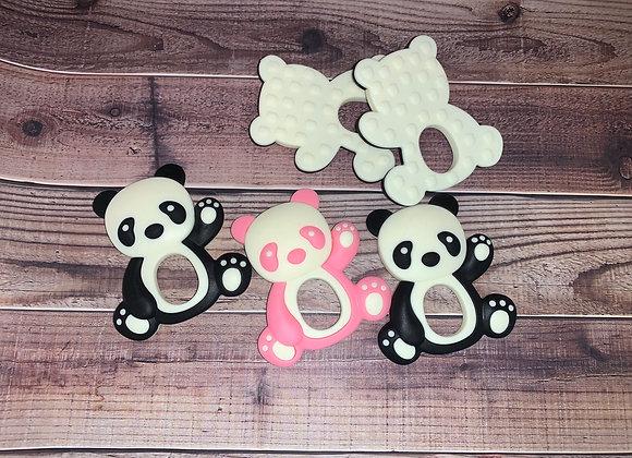 Panda Bear Silicone Teether