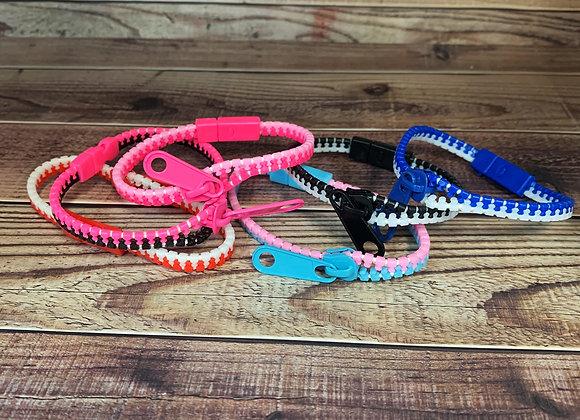 Zipper Fidget Bracelet