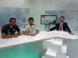 Com Thiago Ventura e Osmar Campbell, Bruno comanda o TV COPA no UOL