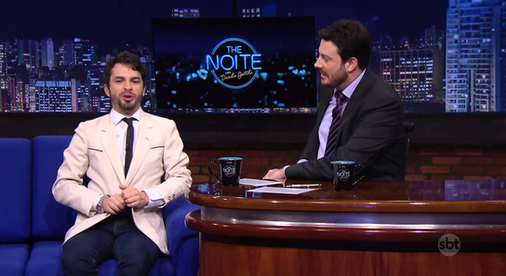 Danilo Gentili entrevista Bruno no The Noite