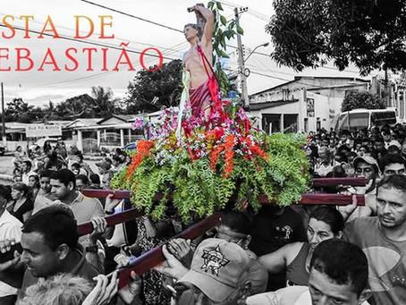 117° festa de São Sebastião se inicia em Xapuri