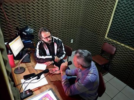 Prefeito Bira Vasconcelos concede entrevista na Rádio Educadora 06 de agosto