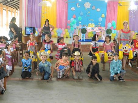 Escola da Rede Municipal de Ensino realiza atividade alusiva ao Dia das Crianças