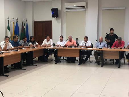 Prefeito Bira Vasconcelos participa de reunião na AMAC
