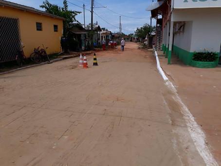 Prefeitura de Xapuri recupera trecho da Rua Childerico Maciel no Centro
