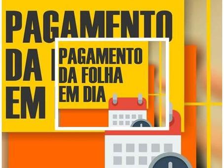 Bira Vasconcelos anuncia pagamento de salário de dezembro e 13º para o dia 20