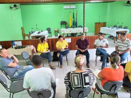 Prefeito Bira reuni-se com equipe do Projeto RONDON para planejamento das atividades no município