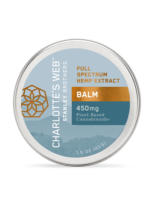 Charlotte's Web Hemp Infused CBD Balm
