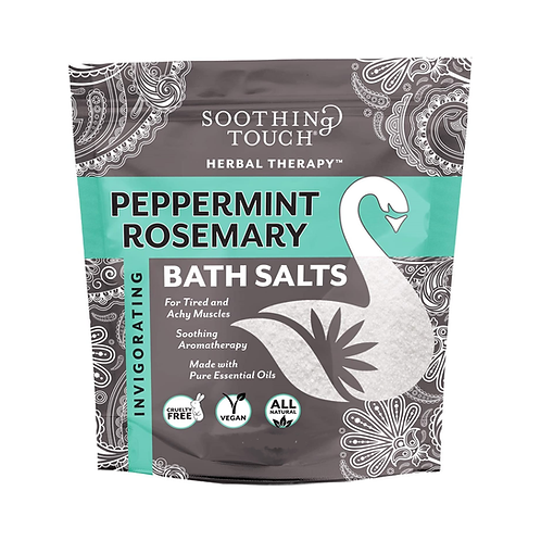 Soothing Touch - Bath Salts (Peppermint Rosemary)