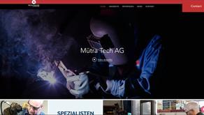 NEUE Webseite der Firma Mütra Tech AG