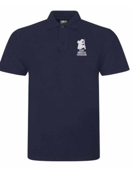 East Durham Veterans Navy Polo Shirt