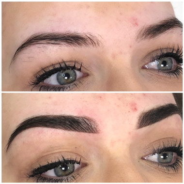 Permanent Ombre Eyebrows