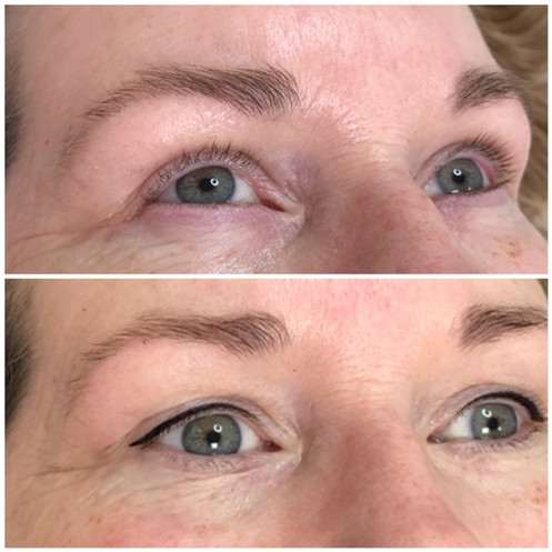 Permanent Eyeliner Top