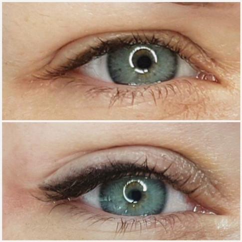 Permanent Shaded Eyeliner
