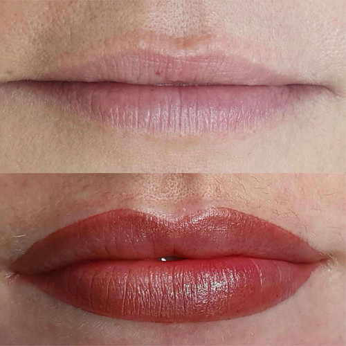 Full Lip Permanent Makeup