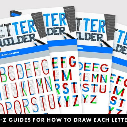Letter Builder Guides