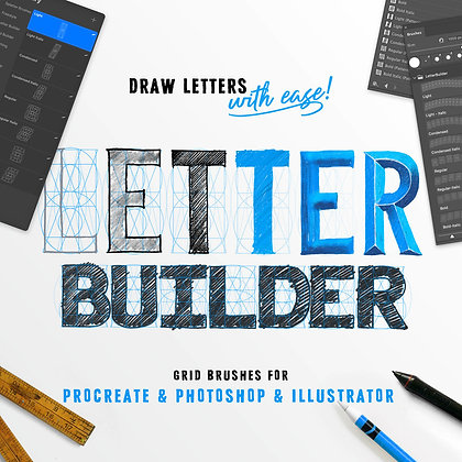 Letter Builder - Drawing Letters with ease