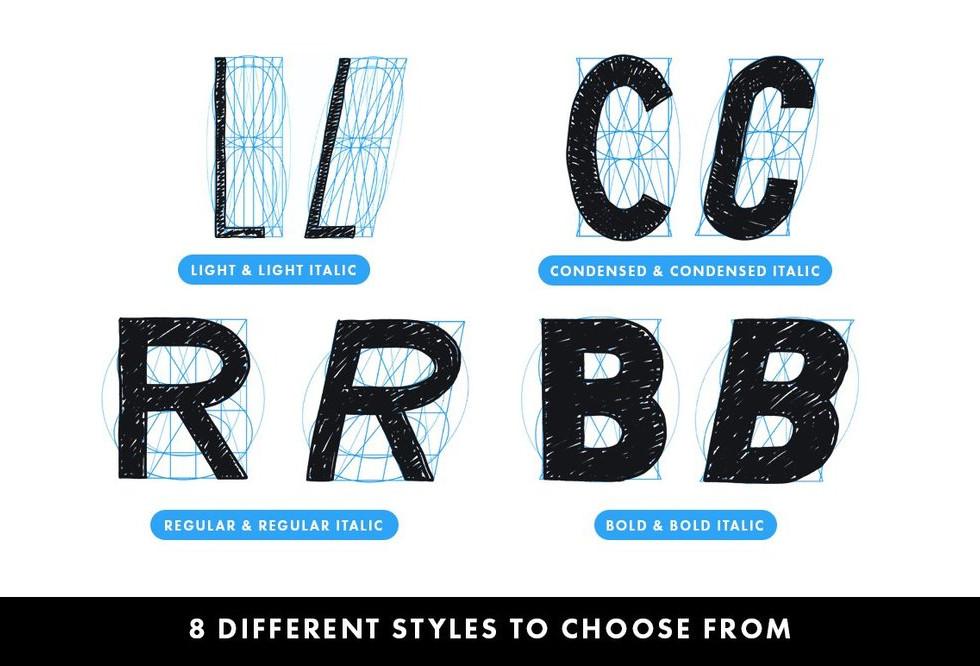 8 Letter Builder Styles