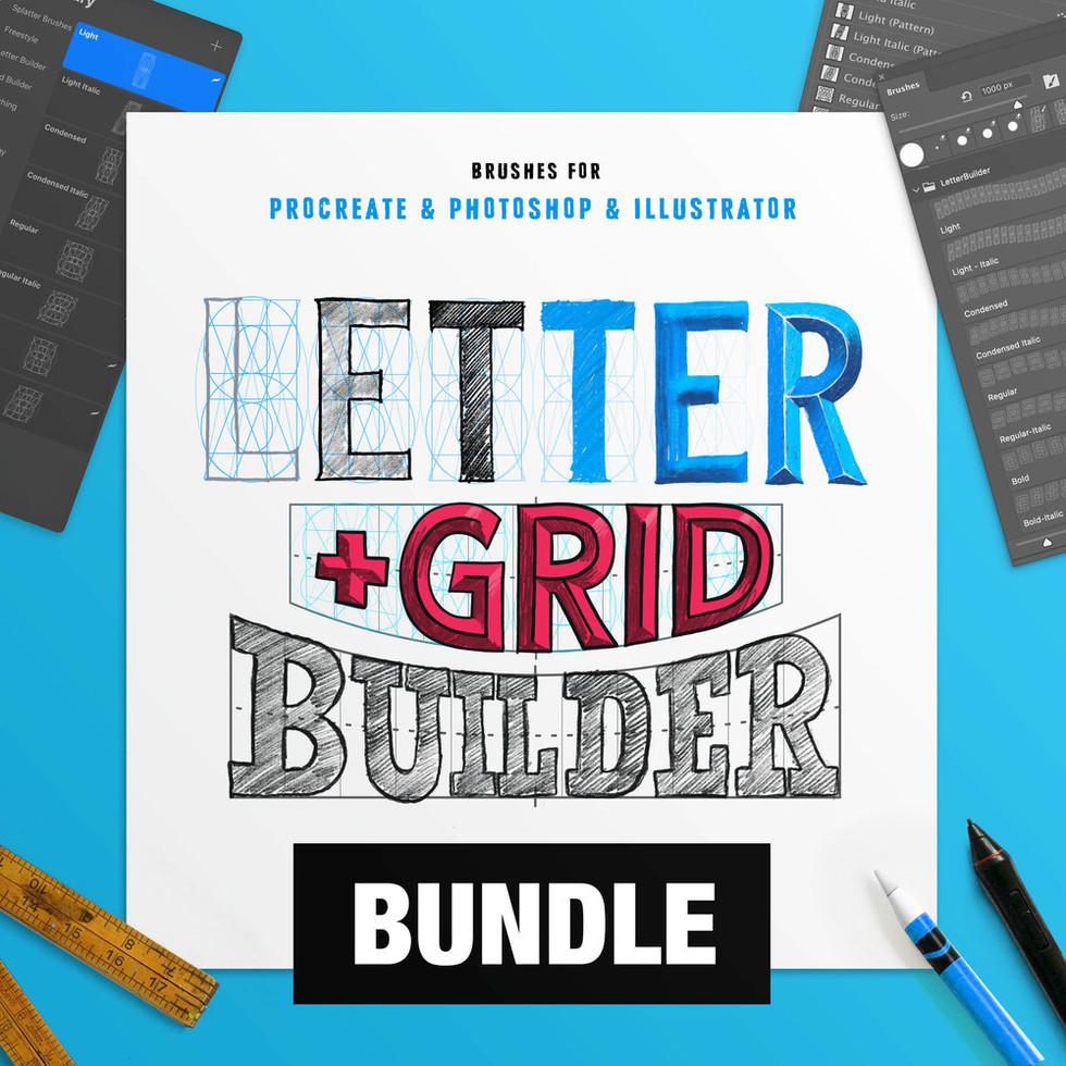 Letter + Grid Builder
