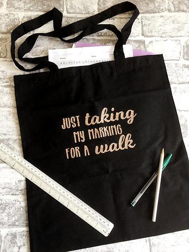Teachers 'Marking' Tote Bag