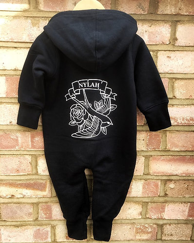 Baby/Toddler Tattoo Patch Onesie