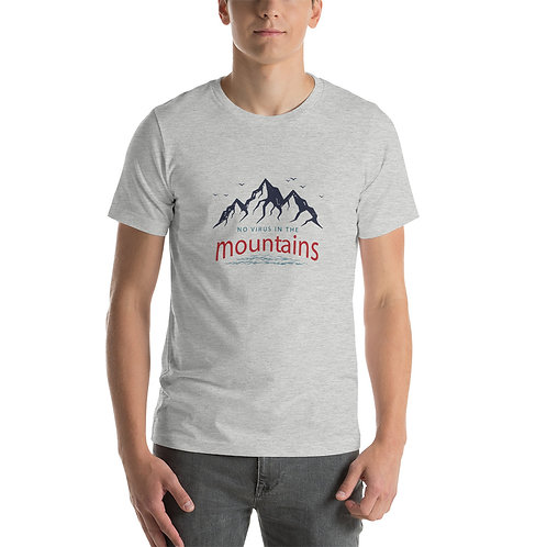 No Virus In The Mountains Short-Sleeve Unisex T-Shirt