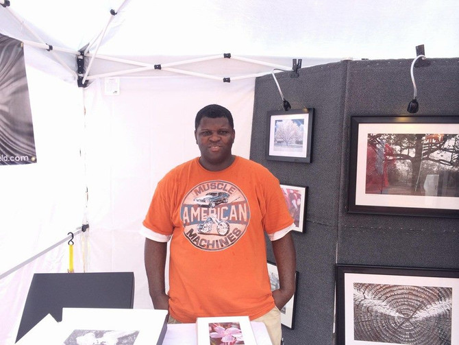 Had a good time at the blueberry festival in Nacogdoches TX even though it rained some.