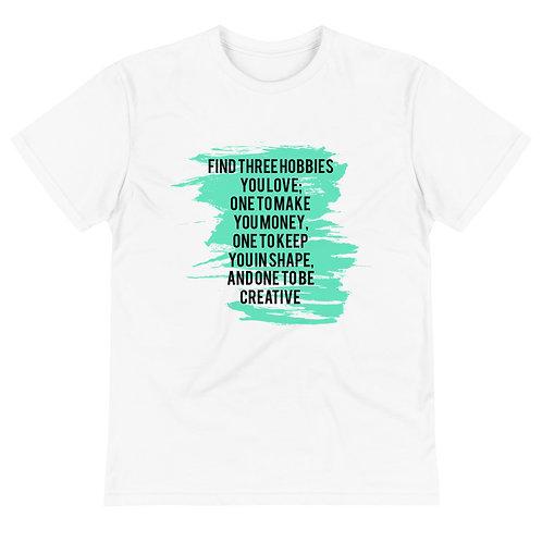 Sustainable T-Shirt Hobbies