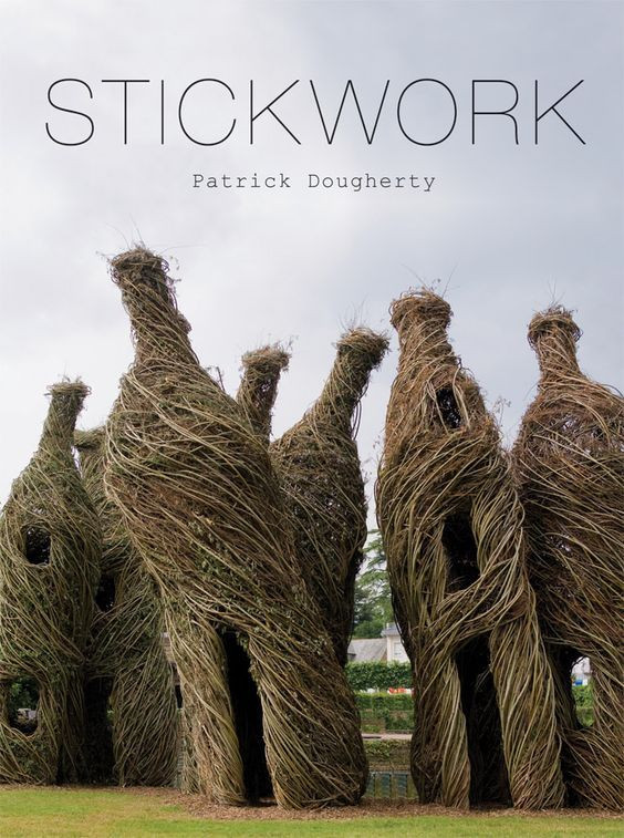 Stickwork: Sculptures That Degrade Back To The Earth