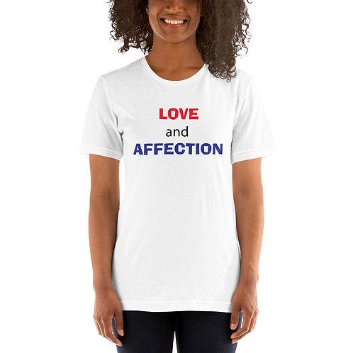 Love Affection Short-Sleeve Unisex T-Shirt